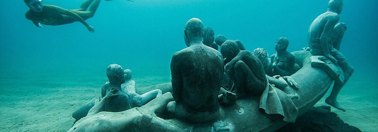 Primeiro museu subaquático da Europa abre este mês em Lanzarote, Espanha