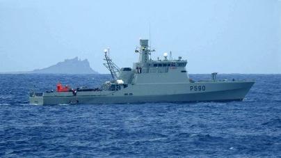 NRP Tejo pela primeira vez em missão nas Ilhas Selvagens