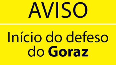 Início do período de defeso do Goraz às 00h00 do dia 15 de janeiro