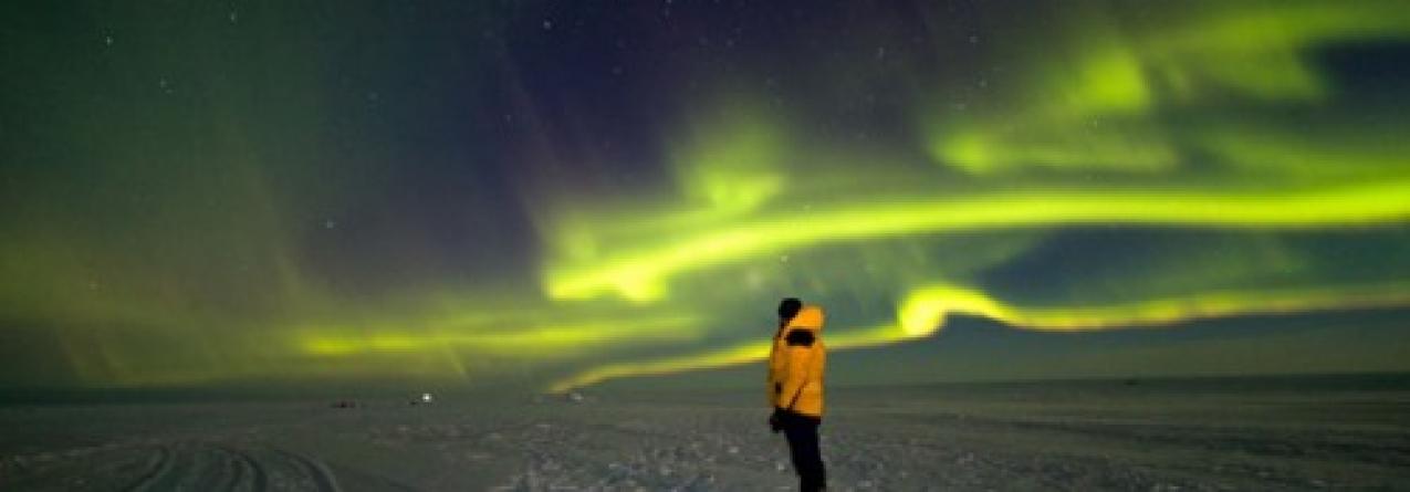 Na Antárctida, do lado errado da placa de gelo