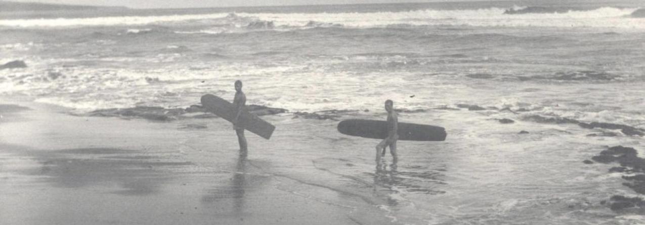 Revelada foto de surf no Havai com cerca de 120 anos