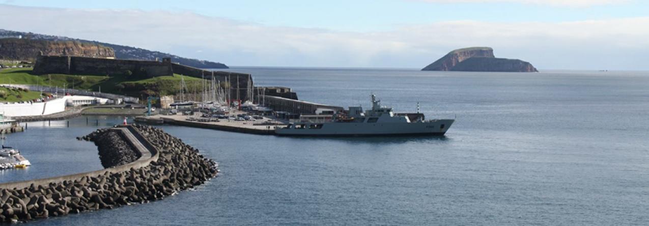 Marinha vigia e protege o mar dos Açores: 5800 milhas percorridas em dois meses de missão