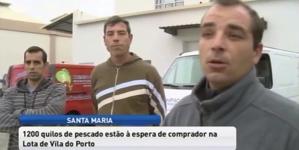 Pescadores de Santa Maria revoltados após fiscalização da GNR (vídeo)
