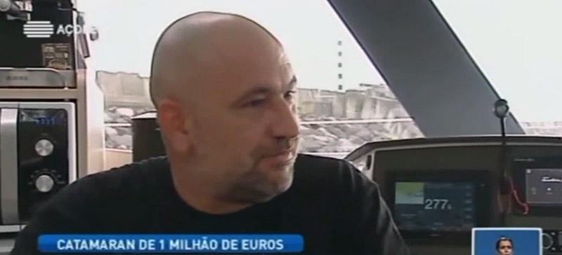 Catamaran de um milhão de euros vai operar em quase todas as ilhas dos Açores (vídeo)
