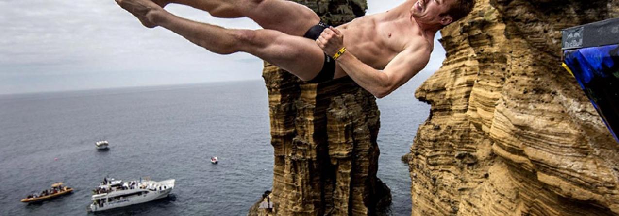 Ilhéu de Vila Franca do Campo vai receber Red Bull Cliff Diving (vídeo)