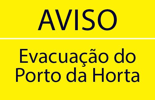 Porto da Horta um treino no âmbito do código ISPS