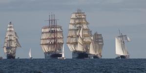 Tall Ships Regatta // Os grandes veleiros já estão a chegar a Sines