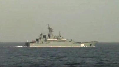 Marinha vigilante a nova passagem de navio russo no mar português (video)