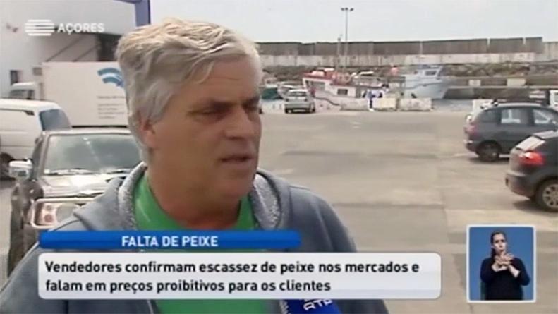 Falta de peixe na ilha Terceira faz disparar o preço (vídeo)