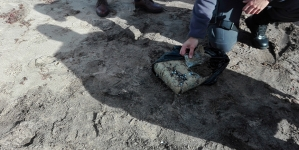 Polícia Marítima da Horta apreende fardo de droga na praia do Porto Pim