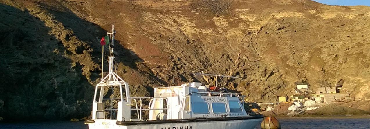 Instituto Hidrográfico desenvolve investigação científica ao largo das Ilhas Selvagens