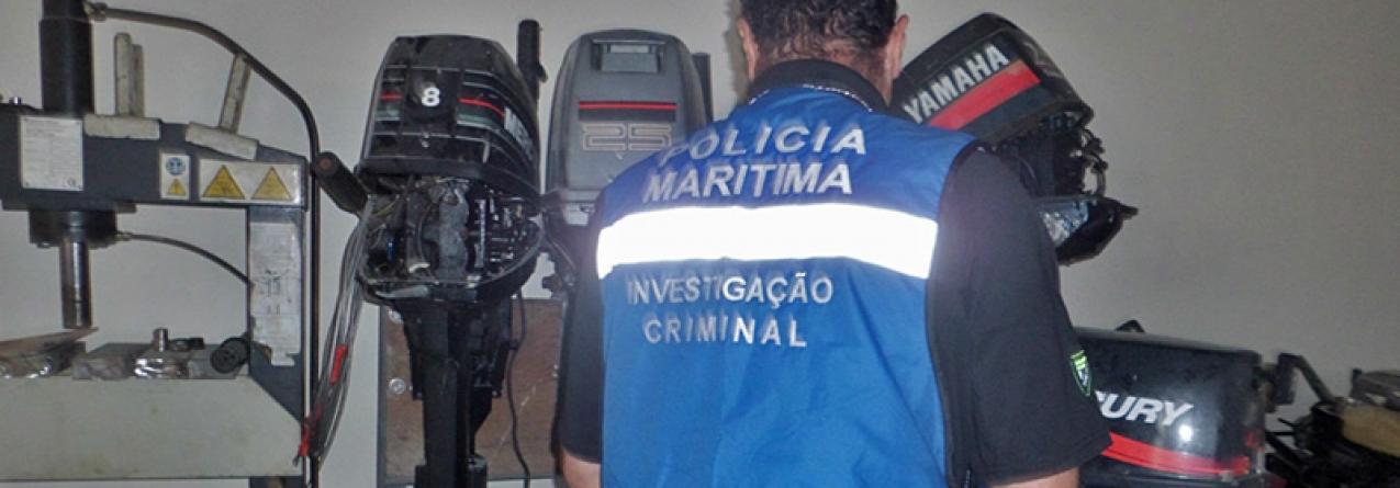Polícia Marítima executa mandatos judiciais de buscas sobre prática de crimes de falsificação em motores na cidade da Horta