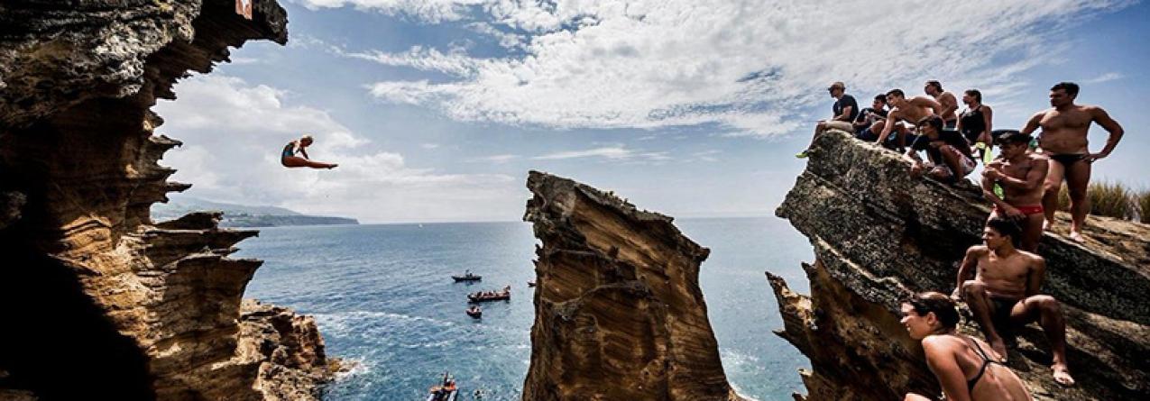 Açores em contagem decrescente para o Red Bull Cliff Diving