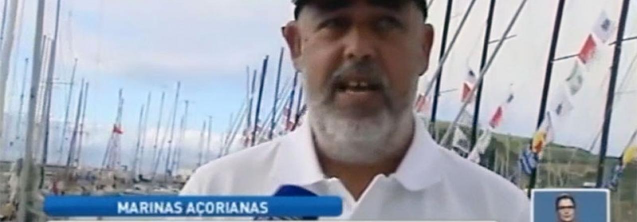 Marinas dos Açores com lotação esgotada (vídeo)