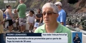 Grupo de cidadãos reclama obras no Porto do Topo na ilha de São Jorge (vídeo)