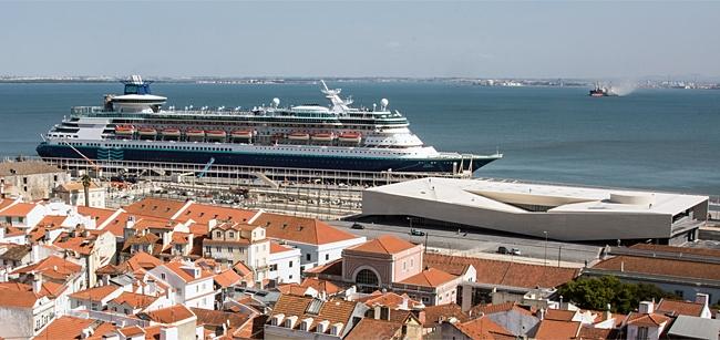 Lisboa já tem nova gare de passageiros no terminal de cruzeiros