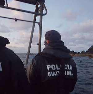 Polícia Marítima fiscaliza Reserva Natural das Formigas