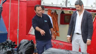 Governo dos Açores promove experiência piloto para quantificar resíduos a bordo de embarcações de pesca