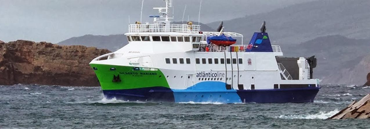 500 mil passageiros transportados nos navios da Atlânticoline até ao início de outubro