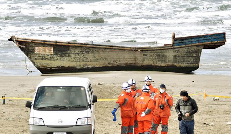 """É a fome que está a levar """"barcos fantasma"""" norte-coreanos ao Japão?"""