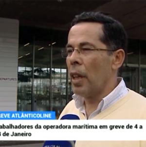 Greve no transporte marítimo nos Açores (vídeo)