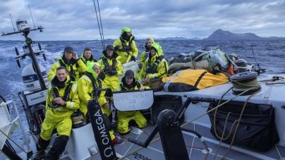 Brunel lidera a frota da Volvo Ocean Race na passagem pelo cabo Horn