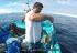 Pesca nos Açores de encharéu e garoupa