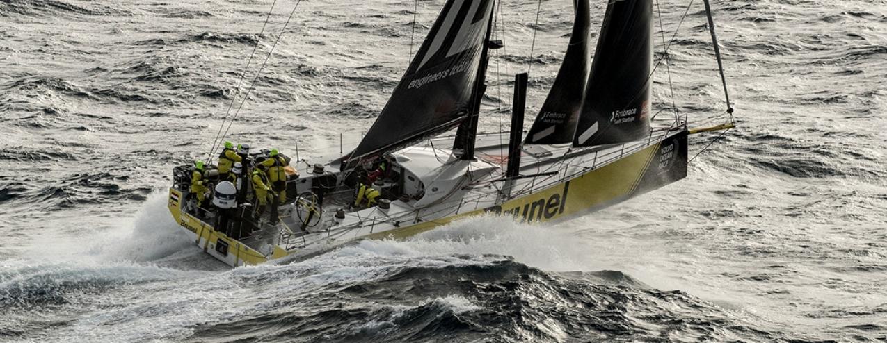 Team Brunel ganha a etapa mais dura da Volvo Ocean Race