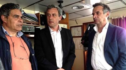 Gui Menezes destaca importância do navio de investigação 'Arquipélago' para a ciência e para gestão das pescas
