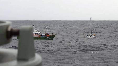 Marinha coordenou operação de salvamento de veleiro alemão nos Açores