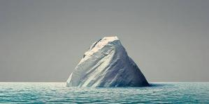 A ponta de um iceberg…