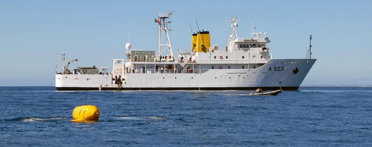 Marinha inicia campanha hidrográfica nos Açores