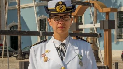Primeira comandante de um patrulha oceânico tomou posse