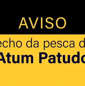 Fecho da pesca da espécie Atum Patudo (BET/ATLANT)