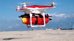 Praia de Santo Amaro de Oeiras é a primeira em Portugal com drone salva vidas