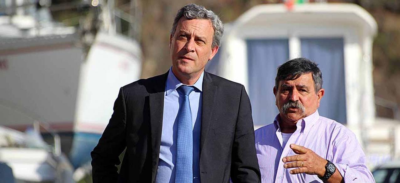 """Gui Menezes faz balanço """"muito positivo"""" do setor das pescas em São Jorge"""