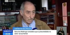 Genuíno Madruga: Futuro das pescas nos Açores pode estar em risco