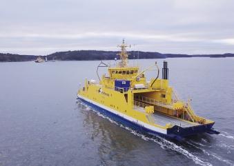 Rolls-Royce e Finferries mostraram ao mundo o primeiro 'ferry' autónomo em acção