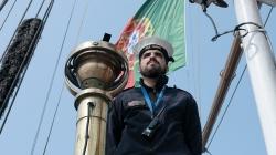 NRP Sagres iniciou a grande viagem de volta ao mundo no passado domingo