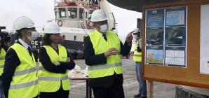 Presidente do Governo: Investimento de 46 milhões de euros prepara Porto de Ponta Delgada para o futuro