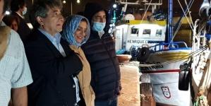 Ministro do Mar acompanhou a primeira saída para a pesca da sardinha