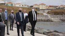 Inauguração da obra de valorização e proteção da Baía do Fanal em Angra do Heroísmo