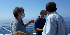 Ministro do Mar acompanhou trabalhos de mapeamento de coral vermelho ao largo de Albufeira
