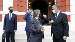 Presidente do Governo dos Açores recebeu Ministro do Mar