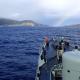Corveta António Enes transporta material para o Farol da Ponta da Barca