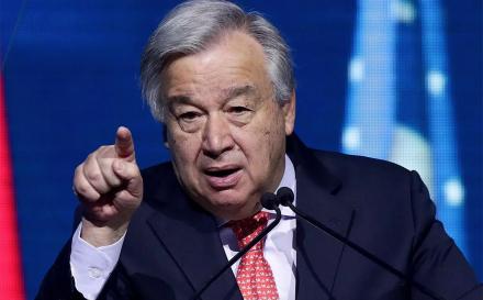 """Em 10 anos duplicaram """"zonas mortas"""" nos oceanos, alerta António Guterres"""