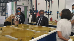 Ministro do Mar e Secretária de Estado das Pescas inauguram Centro Biomarinho da Nazaré
