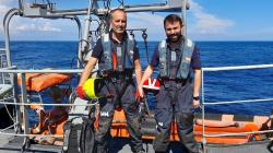 DGRM participa em missão internacional de fiscalização no Mar