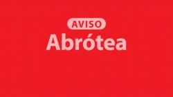 Aviso de 80% de utilização da quota anual da Abrótea